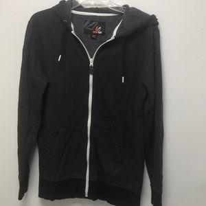 Amplify hooded sweatshirt jacket